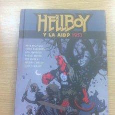 Cómics: HELLBOY CARTONE #20 HELLBOY Y LA AIDP 1953. Lote 83316396