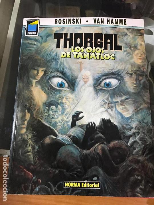 COLECCION PANDORA Nº 9. THORGAL. LOS OJOS DE TANATLOC. GRZEGORZ ROSINSKI. NORMA 1990. (Tebeos y Comics - Norma - Comic Europeo)