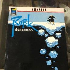 Cómics: ANDREAS - RORK Nº4 - DESCENSO - COL. PANDORA Nº 38 -. Lote 83425396