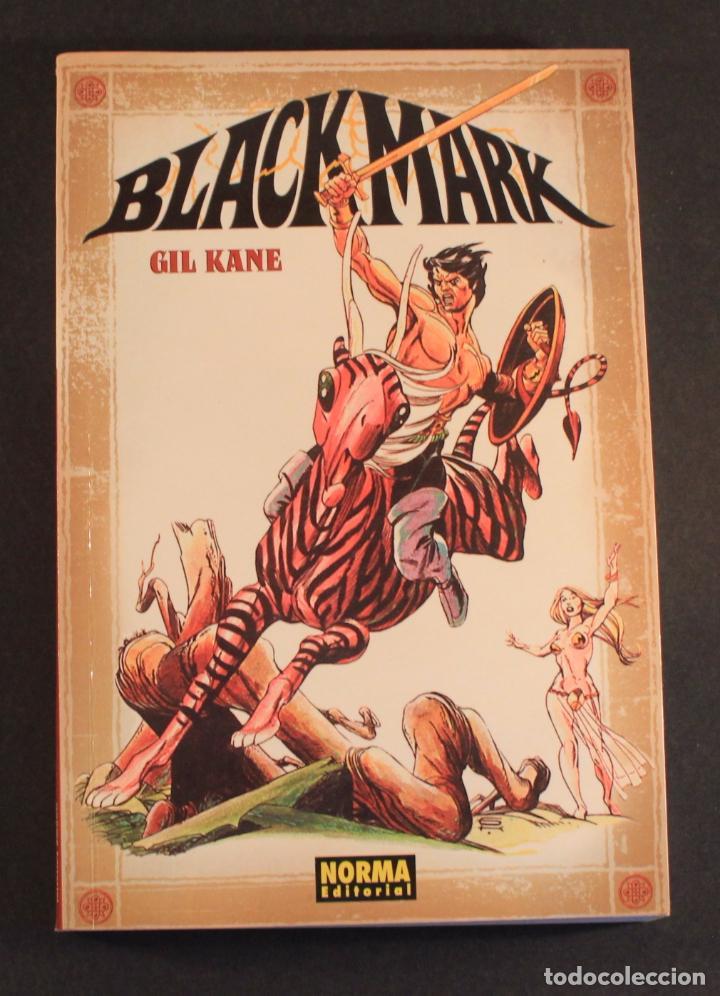 2005 NORMA COMICS - NOVELA GRÁFICA BLACKMARK (ORIGINAL DE 1971) DE GIL KANE (GREEN LANTERN) 256 PAG. (Tebeos y Comics - Norma - Comic USA)