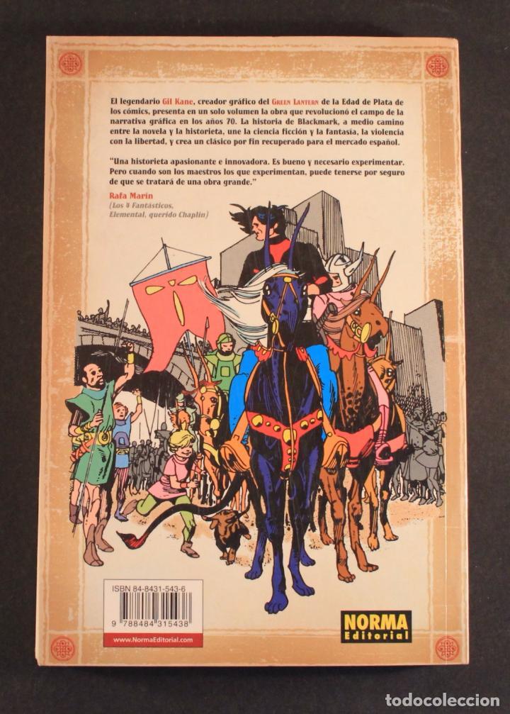 Cómics: 2005 Norma comics - Novela gráfica BLACKMARK (original de 1971) de GIL KANE (Green Lantern) 256 pag. - Foto 2 - 83890268