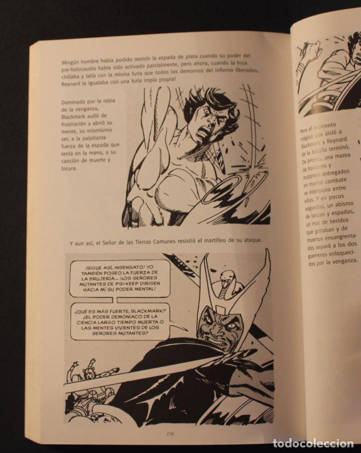 Cómics: 2005 Norma comics - Novela gráfica BLACKMARK (original de 1971) de GIL KANE (Green Lantern) 256 pag. - Foto 5 - 83890268