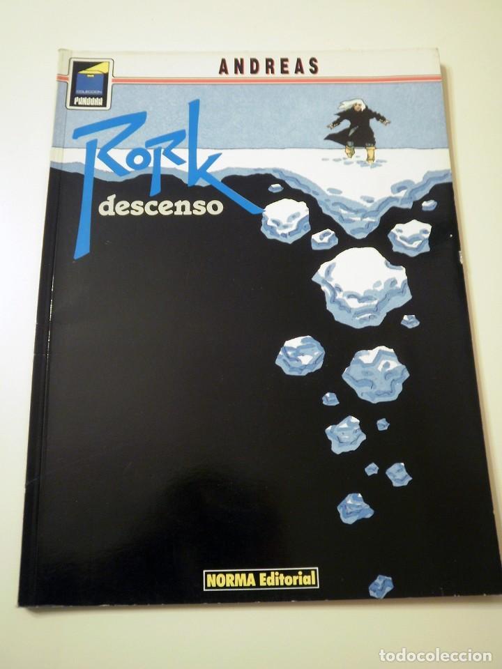 COMIC RORK Nº4 DESCENSO (ANDREAS) (Tebeos y Comics - Norma - Comic Europeo)