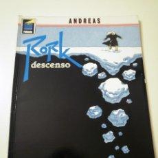 Cómics: COMIC RORK Nº4 DESCENSO (ANDREAS). Lote 83956628
