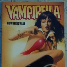 Cómics: VAMPIRELLA: NOWHERESVILLE. DE MARK MILLAR Y MIKE MAYHEW. Lote 83957608