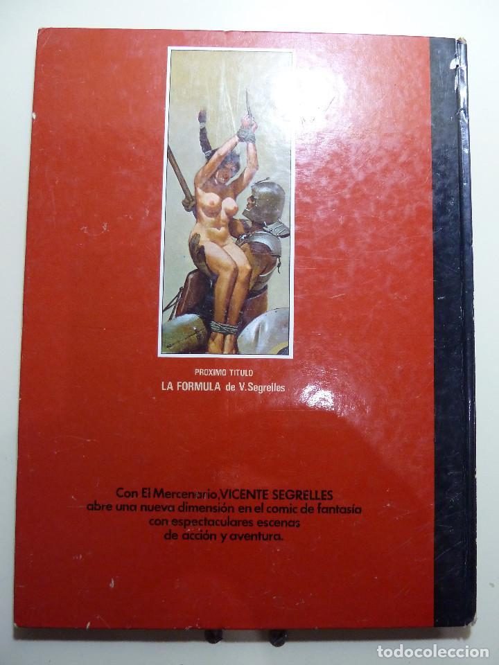 Cómics: EL MERCENARIO - LA FORMULA - LAS PRUEBAS - CIMOC - NORMA - Foto 2 - 84189272