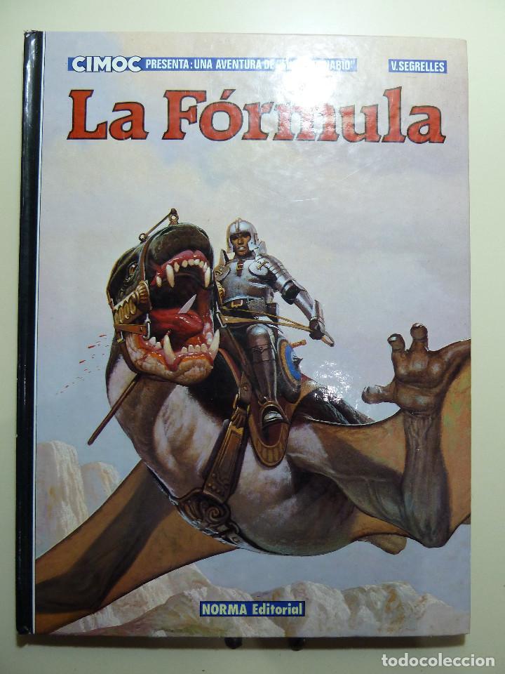 Cómics: EL MERCENARIO - LA FORMULA - LAS PRUEBAS - CIMOC - NORMA - Foto 3 - 84189272