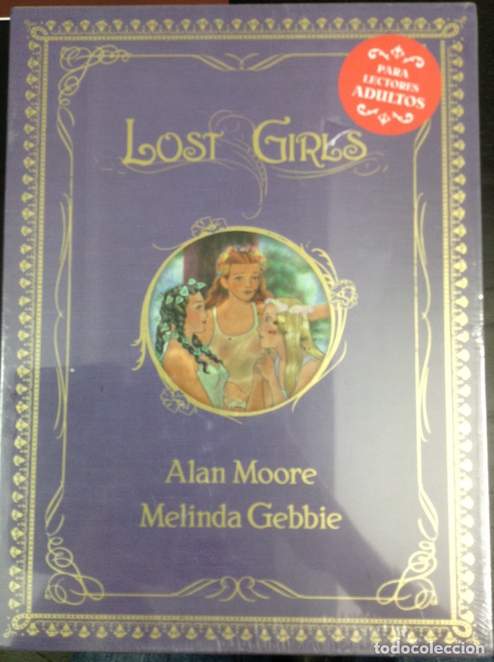 LOST GIRLS 1 2 3 (COLECCIÓN COMPLETA) - ALAN MOORE, MELINDA GEBBIE - NORMA EDITORIAL (Tebeos y Comics - Norma - Comic USA)