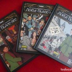 Cómics: LAS EXTRAORDINARIAS AVENTURAS DE ADELE BLANC-SEC 1, 2 Y 3 (TARDI) COMPLETA INTEGRAL NORMA TAPA DURA. Lote 84315496