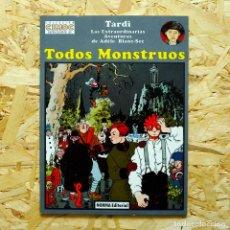 Cómics: ADELE BLANC-SEC. TODOS MONSTRUOS, TARDI. CIMOC EXTRA COLOR. . Lote 84368972
