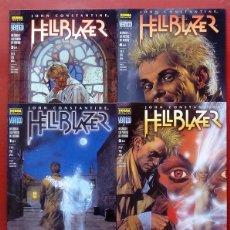 Cómics: HELLBLAZER:UN CÍNICO A LAS PUERTAS DEL INFIERNO (LOTE DE 4 TOMOS) COMPLETA - GARTH ENNIS-NORMA(1999). Lote 84491032