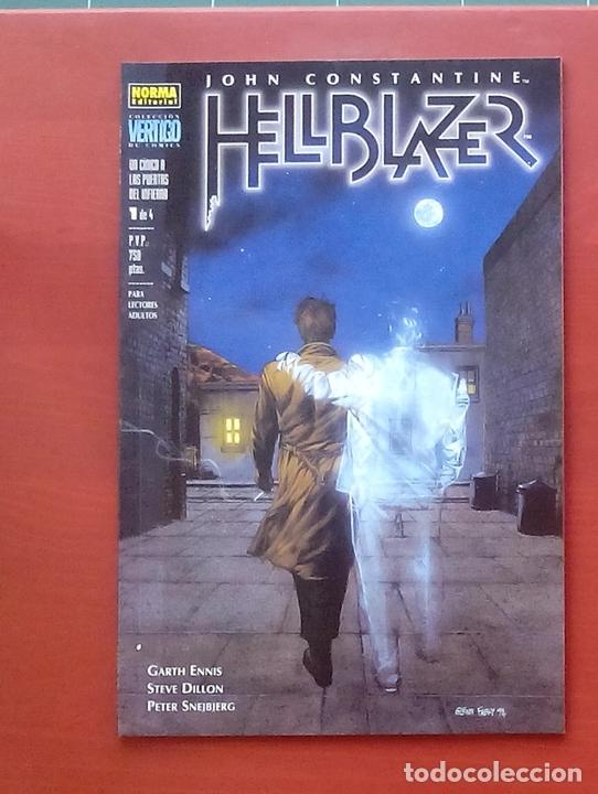 Cómics: Hellblazer:Un Cínico a las Puertas del Infierno (Lote de 4 tomos) COMPLETA - Garth Ennis-Norma(1999) - Foto 2 - 84491032
