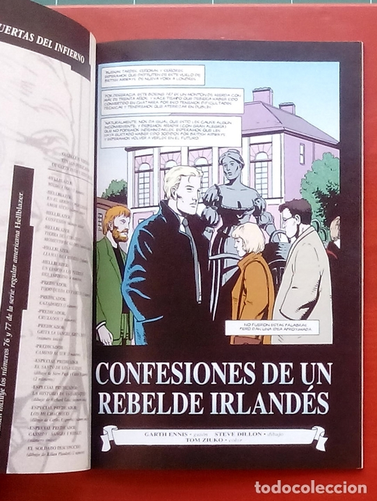 Cómics: Hellblazer:Un Cínico a las Puertas del Infierno (Lote de 4 tomos) COMPLETA - Garth Ennis-Norma(1999) - Foto 4 - 84491032