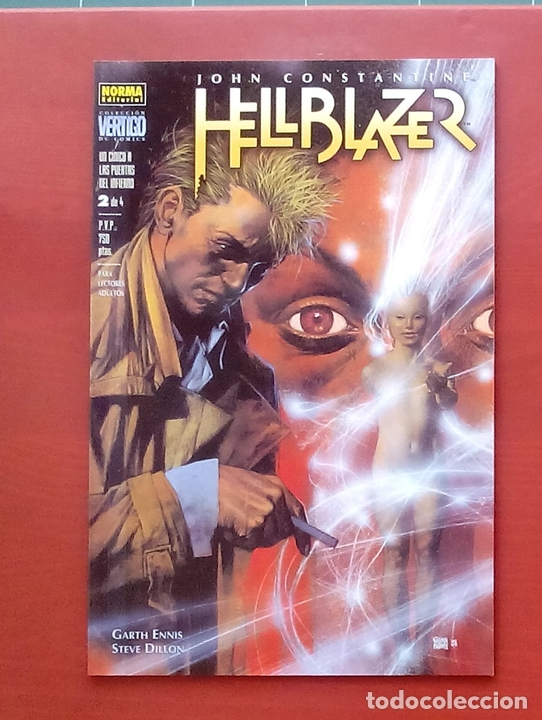 Cómics: Hellblazer:Un Cínico a las Puertas del Infierno (Lote de 4 tomos) COMPLETA - Garth Ennis-Norma(1999) - Foto 7 - 84491032