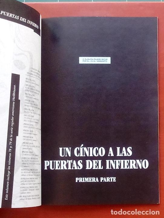 Cómics: Hellblazer:Un Cínico a las Puertas del Infierno (Lote de 4 tomos) COMPLETA - Garth Ennis-Norma(1999) - Foto 9 - 84491032
