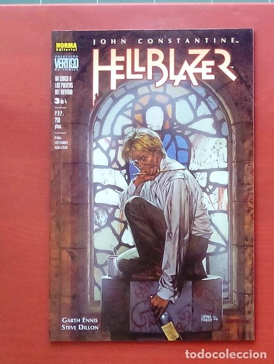 Cómics: Hellblazer:Un Cínico a las Puertas del Infierno (Lote de 4 tomos) COMPLETA - Garth Ennis-Norma(1999) - Foto 14 - 84491032