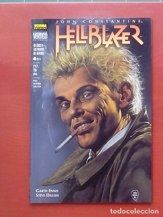 Cómics: Hellblazer:Un Cínico a las Puertas del Infierno (Lote de 4 tomos) COMPLETA - Garth Ennis-Norma(1999) - Foto 19 - 84491032