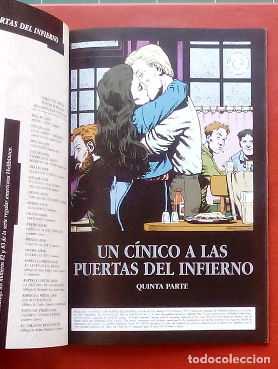 Cómics: Hellblazer:Un Cínico a las Puertas del Infierno (Lote de 4 tomos) COMPLETA - Garth Ennis-Norma(1999) - Foto 21 - 84491032
