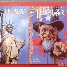 Cómics: HELLBLAZER: LLAMAS DE CONDENA (LOTE DE 2 TOMOS) COMPLETA-GARTH ENNIS, STEVE DILLON - NORMA(1998). Lote 84491720