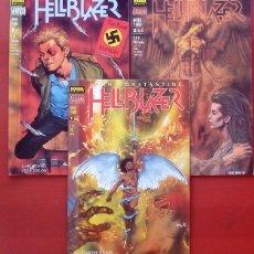 Cómics: HELLBLAZER: MIEDO Y ODIO(LOTE DE 3 TOMOS) COMPLETA -GARTH ENNIS, STEVE DILLON - NORMA COMICS (1997). Lote 84491987