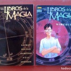 Comics - Los Libros de la Magia: Libro 0 por Neil Gaiman y Vínculos -Norma(2002) (Lote de 2 tomos) - 84531000