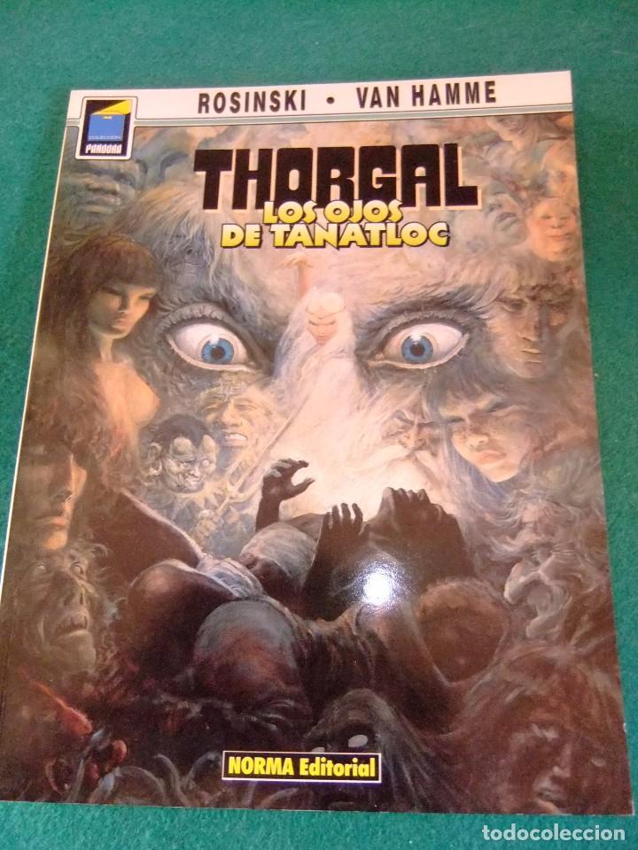 THORGAL LOS OJOS DE TANATLOC COLECCION PANDORA Nº 9 NORMA EDITORIAL (Tebeos y Comics - Norma - Comic Europeo)