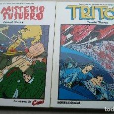Cómics: LOTE DANIEL TORRES - TRITÓN + EL MISTERIO DE SUSURRO - 1ª EDICIÓN 1984 1985 - CAIRO - NORMA - NUEVOS. Lote 84856536