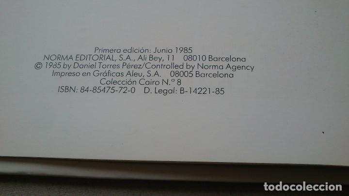 Cómics: LOTE DANIEL TORRES - TRITÓN + EL MISTERIO DE SUSURRO - 1ª EDICIÓN 1984 1985 - CAIRO - NORMA - NUEVOS - Foto 11 - 84856536