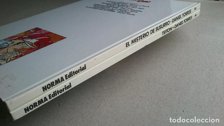 Cómics: LOTE DANIEL TORRES - TRITÓN + EL MISTERIO DE SUSURRO - 1ª EDICIÓN 1984 1985 - CAIRO - NORMA - NUEVOS - Foto 21 - 84856536