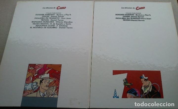 Cómics: LOTE DANIEL TORRES - TRITÓN + EL MISTERIO DE SUSURRO - 1ª EDICIÓN 1984 1985 - CAIRO - NORMA - NUEVOS - Foto 22 - 84856536