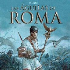 Cómics: CÓMICS. LAS ÁGUILAS DE ROMA 5 - ENRICO MARINI (CARTONÉ). Lote 223232688