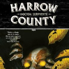 Cómics: CÓMICS. HARROW COUNTY 3. DOCTOR SERPIENTE - CULLEN BUNN/TYLER CROOK/CARLA SPEED MCNEIL. Lote 85092004