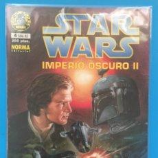 Cómics: STAR WARS COMIC NORMA IMPERIO OSCURO II N° 4 GUERRA GALAXIAS CON FUNDA PROTECTORA. Lote 139195828