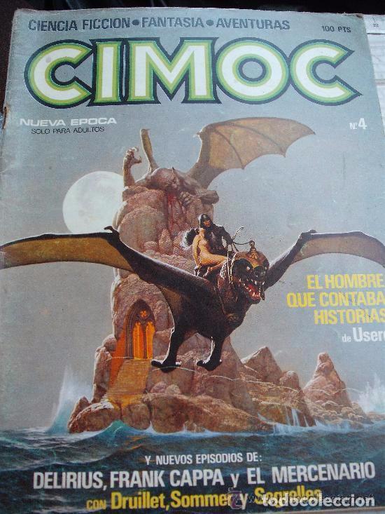 COMIC CIENCIA FICCION NORMA CIMOC 4 CON EL MERCENARIO DE SEGRELLES - --REFSAMUMEES6 (Tebeos y Comics - Norma - Cimoc)