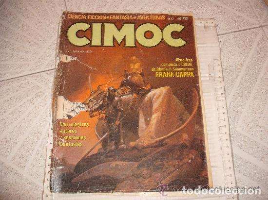 COMIC AVENTURAS CIMOC 12 (Tebeos y Comics - Norma - Cimoc)