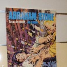 Cómics: ABRAHAM STONE Nº 1 RATAS DE CIUDAD - CIMOC EXTRACOLOR Nº 92 - NORMA OFERTA. Lote 85481952