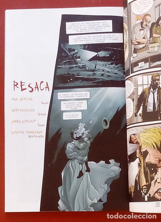 Cómics: Hellblazer: Contra el Reloj por Paul Jenkins, Warren Pleece, Sean Philips - Norma Comics (2002) - Foto 11 - 85528303
