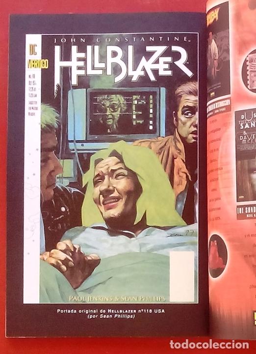 Cómics: Hellblazer: Contra el Reloj por Paul Jenkins, Warren Pleece, Sean Philips - Norma Comics (2002) - Foto 13 - 85528303