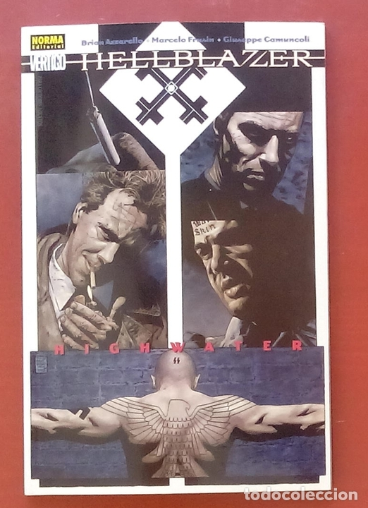 HELLBLAZER: HIGHWATER POR BRIAN AZZARELLO, MARCELO FRUSIN, GIUSSEPPE CAMUNCOLI - NORMA COMICS (2004) (Tebeos y Comics - Norma - Comic USA)