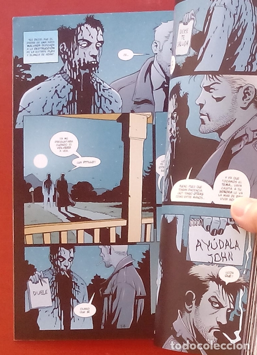 Cómics: Hellblazer: Highwater por Brian Azzarello, Marcelo Frusin, Giusseppe Camuncoli - Norma Comics (2004) - Foto 5 - 85529048