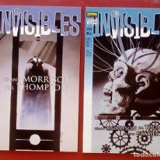 Cómics: LOS INVISIBLES: ARCADIA (LOTE 2 TOMOS) COMPLETA - GRANT MORRISON, JILL THOMPSON - NORMA (1999). Lote 85553098