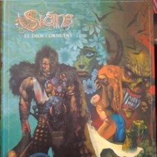 Cómics: SLAINE. EL DIOS CORNUDO. PAT MILLS Y SIMON BISLEY. Lote 85879748