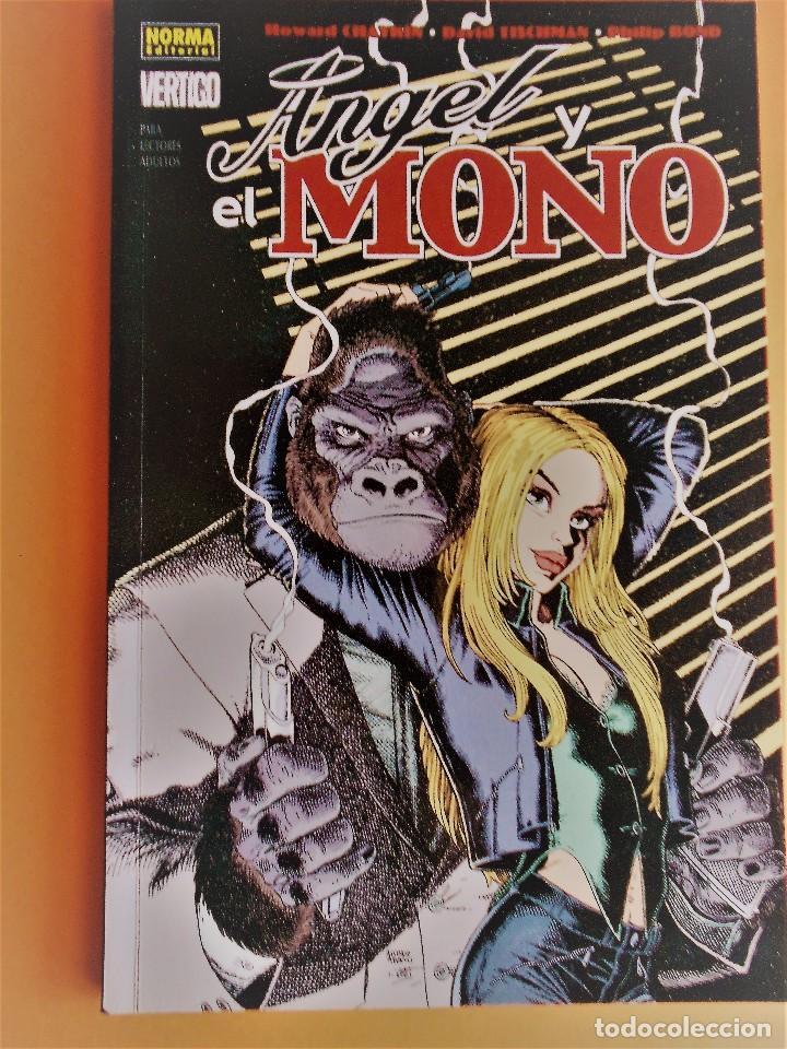 ANGEL Y EL MONO DE HOWARD CHAYKIN. COLECCIÓN VERTIGO (Tebeos y Comics - Norma - Otros)
