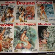 Cómics: DRUUNA - PAOLO ELEUTERI SERPIERI - NORMA EDITORIAL. Lote 86359004