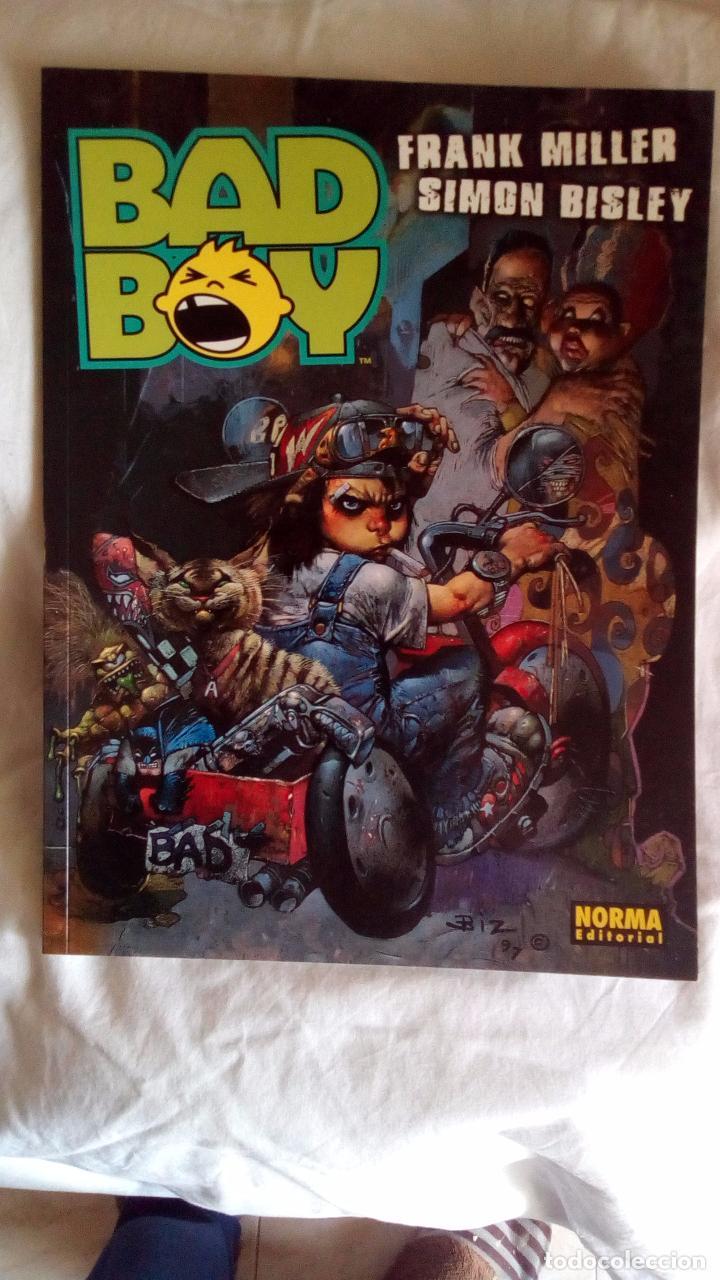 BAD BOY.FRANK MILLER-SIMON BISLEY. (Tebeos y Comics - Norma - Comic USA)