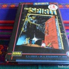 Cómics: LOS ARCHIVOS DE THE SPIRIT VOLUMEN 1. NORMA 2008. REGALO BATMAN THE SPIRIT Nº 0. BUEN ESTADO.. Lote 86634224