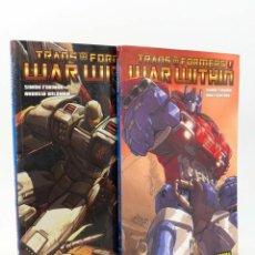 Fumetti: TRANSFORMERS WAR WITHIN 1 Y 2. COLECCIÓN COMPLETA (FURMAN / FIGUEROA / WILDMAN) NORMA, 2009. OFRT. Lote 258825280
