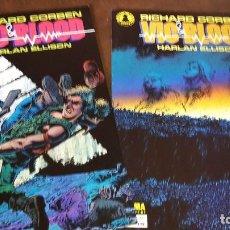 Cómics: VIC & BLOOD. RICHARD CORBEN 1 Y 2 (COMPLETA) NORMA. Lote 87022452
