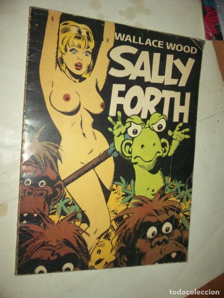 SALLY FORHT WALACE MADERA ART. 1976 EDIT. FROMAGE PARIS F.RANCE 65 PAGINAS B Y N.. (Tebeos y Comics - Norma - Comic Europeo)