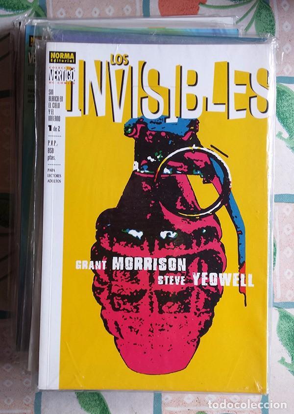 GRANT MORRISON: LOS INVISIBLES (NORMA / PLANETA, COMPLETA) MUY BUEN ESTADO (Tebeos y Comics - Norma - Comic USA)